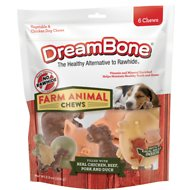 DreamBone Farm Animal Chews Dog Treats