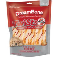 DreamBone Twists Chicken Chews Dog Treats