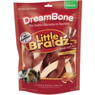 DreamBone Large Braidz Real Chicken & Pork Chews Dog Treats