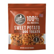 Wholesome Pride Pet Treats Sweet Potato Mini Bites Dog Treats, 8-oz bag
