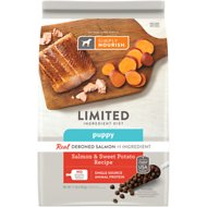 Simply Nourish Limited Ingredient Diet Sweet Potato & Salmon Recipe Puppy Dry Dog Food, 11-lb bag