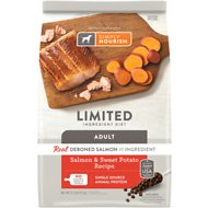 Simply Nourish Limited Ingredient Diet Salmon & Sweet Potato Recipe Dry Dog Food, 22-lb bag