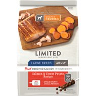 Simply Nourish Limited Ingredient Diet Salmon & Sweet Potato Recipe Large Breed Adult Dry Dog Food, 22-lb bag