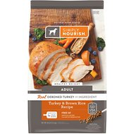 Simply Nourish Healthy Weight Turkey & Brown Rice Recipe Adult Dry Dog Food