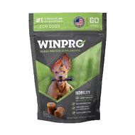 Winpro Pet Mobility Blood Protein Soft Chew Joint Dog Supplement, 60 count