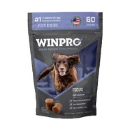 Winpro Pet Focus Blood Protein Soft Chew Calming Dog Supplement, 60 count