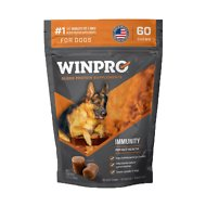 Winpro Pet Immunity Blood Protein Soft Chew Gut Health Dog Supplement, 60 count
