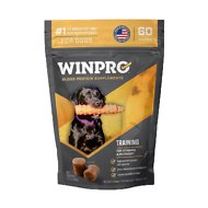 Winpro Pet Training Blood Protein Soft Chew Stamina & Recovery Dog Supplement, 60 count
