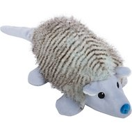 GoDog Fairy Armadillo Chew Guard Squeaky Plush Dog Toy, Blue, Large