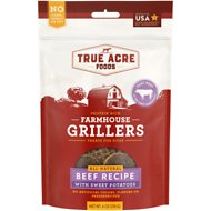 True Acre Foods Farmhouse Grillers, Beef Recipe with Sweet Potatoes