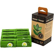 The Original Poop Bags Orange Scented Recycled Rolls, Green, Large, 120 count