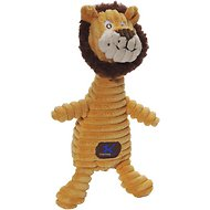 Charming Pet Squeakin' Squiggles Dog Toy, Lion