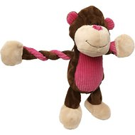 Charming Pet Pulleez Jungle Dog Toy, Monkey