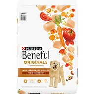 Purina Beneful Originals with Real Chicken Dry Dog Food, 14-lb bag