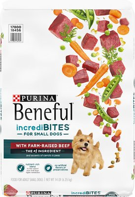 5. Purina Beneful IncrediBites for Small Dogs with Real Beef Dry Dog Food