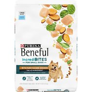 Purina Beneful IncrediBites for Small Dogs with Real Chicken Dry Dog Food, 14-lb bag