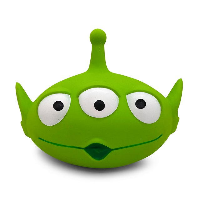 Hyper Pet Disney Alien Super Squeaker Dog Toy by Hyper Pet