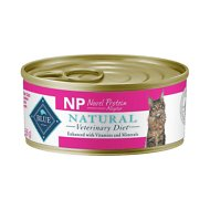 Blue Buffalo Natural Veterinary Diet NP Novel Protein Alligator Canned Cat Food, 5.5-oz, case of 24