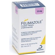 Felimazole Tablets for Cats, 2.5-mg, 1 tablet