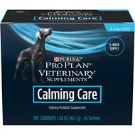 Purina Pro Plan Veterinary Diets Calming Care Probiotic Dog Supplement, 45 count
