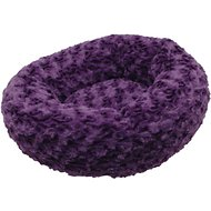 Dogit Style Rosebud Donut Dog Bed, Purple, X-Small