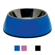 Dogit 2-in-1 Dog & Cat Bowl, Blue, X-Small