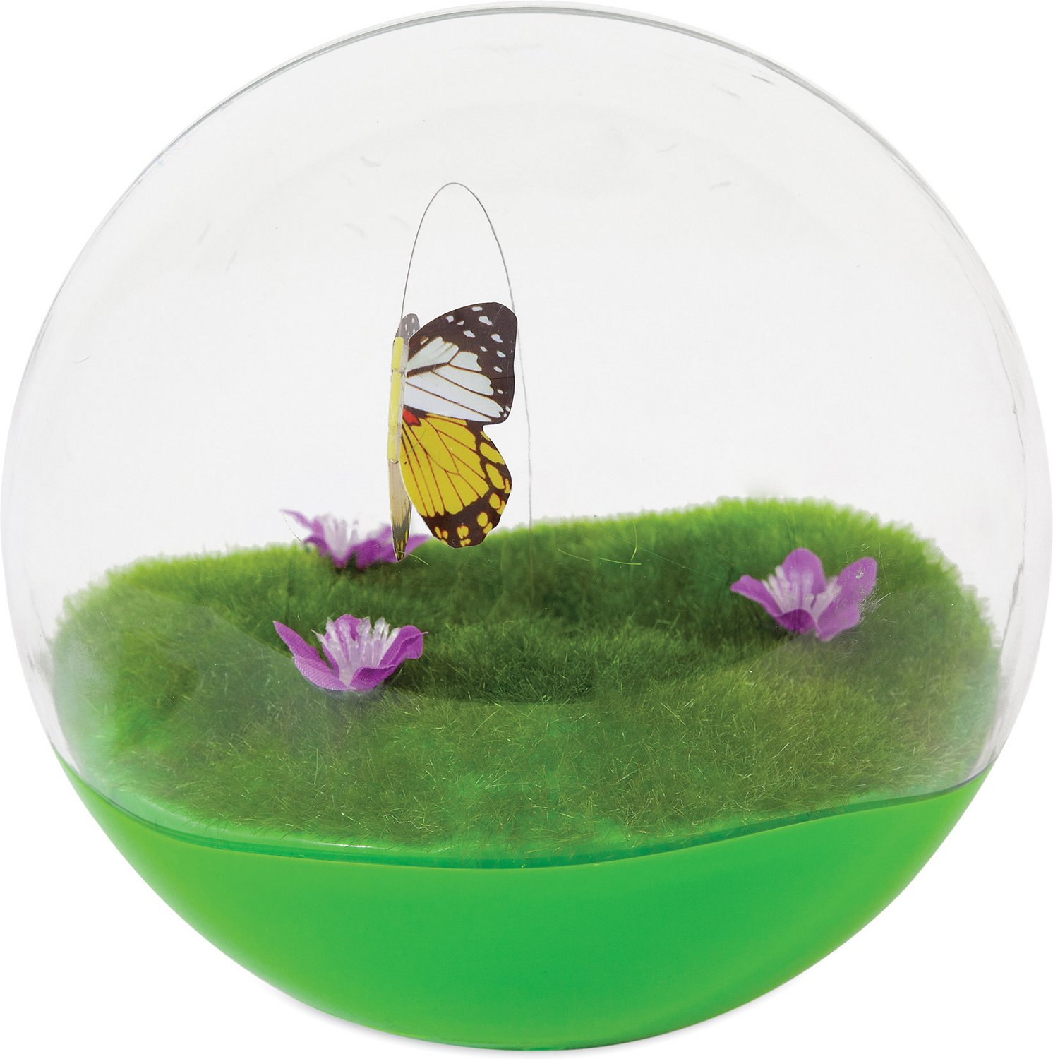 Jackson Galaxy Butterfly Ball Cat Toy Chewy Com
