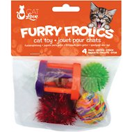 Cat Love Furry Frolics Assorted Cat Toys, 4 count