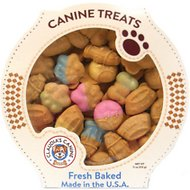 Claudia's Canine Bakery K-9's Favorite Things Peanut Butter Baked Dog Treats, 11-oz tub
