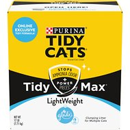 Tidy Max Lightweight Glade Clear Srpings Multi-Cat Clumping Cat Litter, 17-lb box