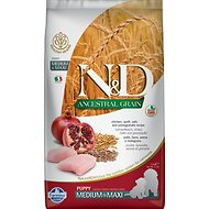 Farmina N&D Ancestral Grain Chicken & Pomegranate Medium & Maxi Puppy Dry Dog Food