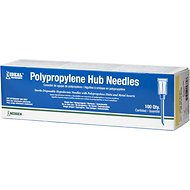 Neogen Hypodermic 20 Gauge Needles, 1 Inch, 100 count