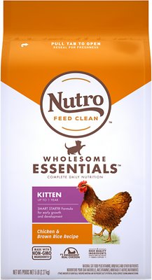 2. Nutro Wholesome Essentials Kitten Dry Cat
