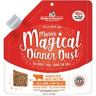 Stella & Chewy's Marie's Magical Dinner Freeze-Dried Raw Dust Grass-Fed Beef Dog Food Topper, 7-oz bag