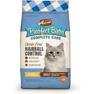 Merrick Purrfect Bistro Complete Care Grain-Free Hairball Control Chicken & Sweet Potato Recipe Dry Cat Food, 4-lb bag