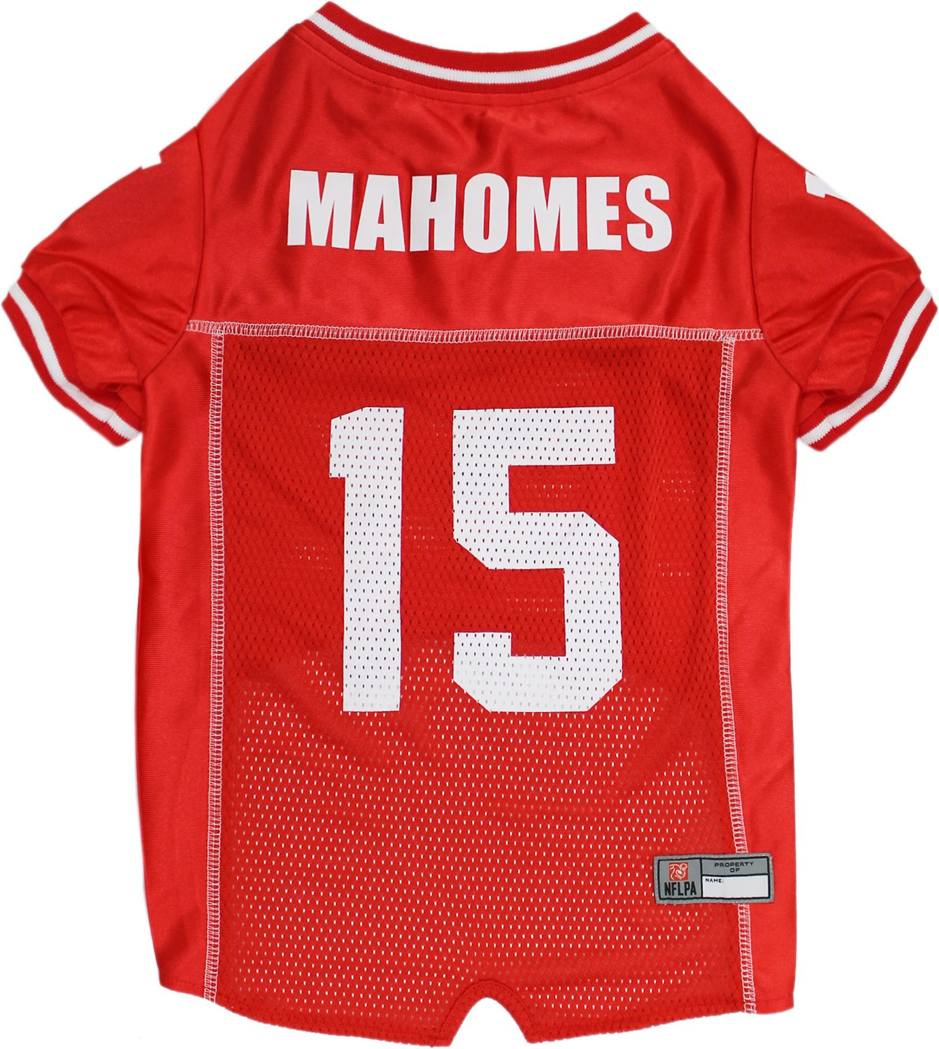 new product b3afe 7165e Pets First Patrick Mahomes Dog Jersey, Large