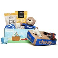 Goody Box Chewy-Themed with Toys and Treats for Small and Medium Dogs