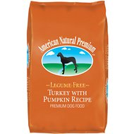 American Natural Premium Turkey with Pumpkin Recipe Legume-Free Premium Dry Dog Food , 33-lb bag