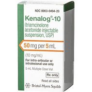 Kenalog 10 Injectable Suspension,10 mg/mL, 5-mL Multi-Dose Vial