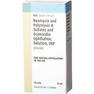 Neo-Poly Gramicidin Ophthalmic Solution, 10-mL