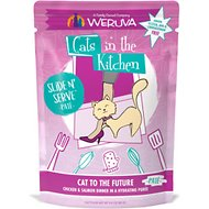 Weruva Cats in the Kitchen Cat to The Future with Chicken & Salmon Grain-Free Cat Food Pouches
