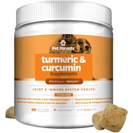 Pet Parents Turmeric & Curcumin Chicken Flavored Dog Supplement, 90-count