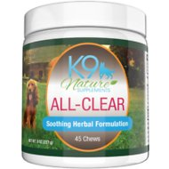 K9 Nature Supplements All-Clear Allergy Treats Bacon & Chicken Flavor Dog Supplement