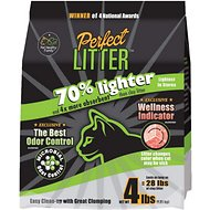 Pet Healthy Brands Perfect Cat Unscented Clumping Clay Cat Litter, 4-lb bag