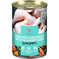 Billy + Margot Chicken Casserole with Superfoods Puppy Grain-Free Canned Dog Food , 14.1-oz can, case of 12