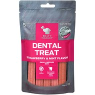 Billy + Margot Strawberry & Mint Flavored Grain-Free Dental Dog Treats