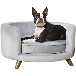 Enchanted Home Pet Rosie Sofa Dog Bed w/Removable Cover, Small