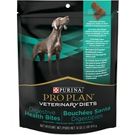 Purina Pro Plan Veterinary Diets Chicken Flavor Digestive Health Bites Dog Treats, 16-oz bag