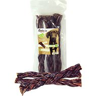 "Fantastic Dog Chews 12"" Braided Beef Gullet Sticks Dog Chews"
