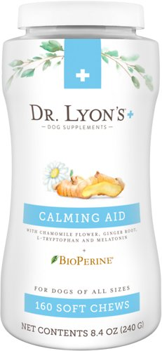 Dr. Lyon's Calming Aid with Melatonin Soft Chew Dog Supplement
